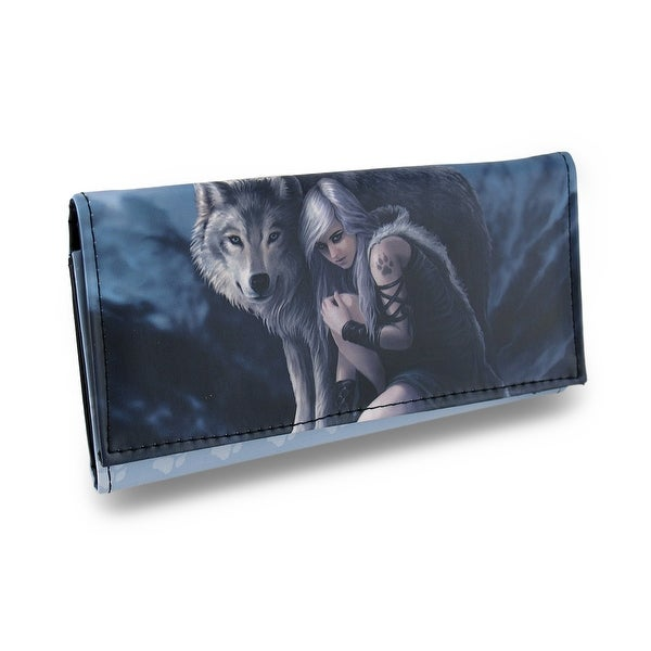 Protector by Anne Stokes Faux Leather Gothic Fantasy Wallet