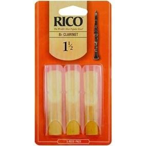 Rico Bb Clarinet Reed no. 3 Box of 3