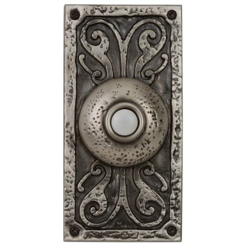 """Craftmade PB3037 Designer Surface Mount 5.25"""" Tall LED Door Chime Push Button"""