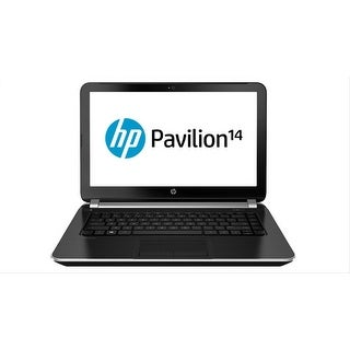 "HP Pavilion 14-N218US 14"" Touch Laptop AMD A8-5545M 1.7GHz 6GB 750GB Windows 10"