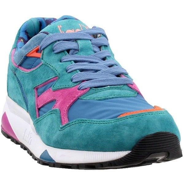 29aeec9a92 Shop Diadora Mens N9002 Mii Valanga Azzurra Casual Sneakers Shoes ...