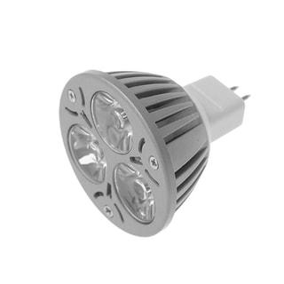 Unique Bargains MR16 3w Warm Pure White Light Spotlight Bulb Lamp