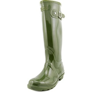 Seven7 British Girl Women  Round Toe Synthetic  Rain Boot
