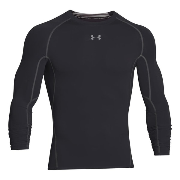 Shop Under Armour Men s HeatGear Armour Long Sleeve Compression Shirt  1257471 - Free Shipping On Orders Over  45 - Overstock - 20759794 a0901c9f1037