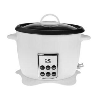 Kalorik RC41501W White Multifunction Digital Rice Cooker