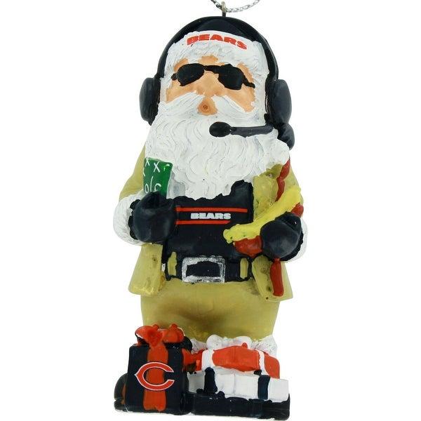 Shop Chicago Bears Thematic Santa Resin Christmas Tree