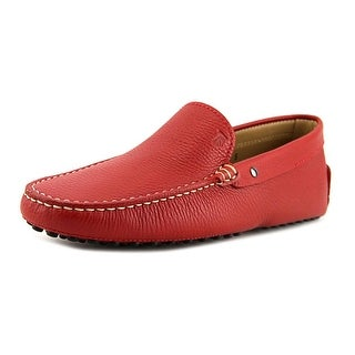 Tod's Pantofola Borchie Gommini Nuovo Moc Toe Leather Loafer