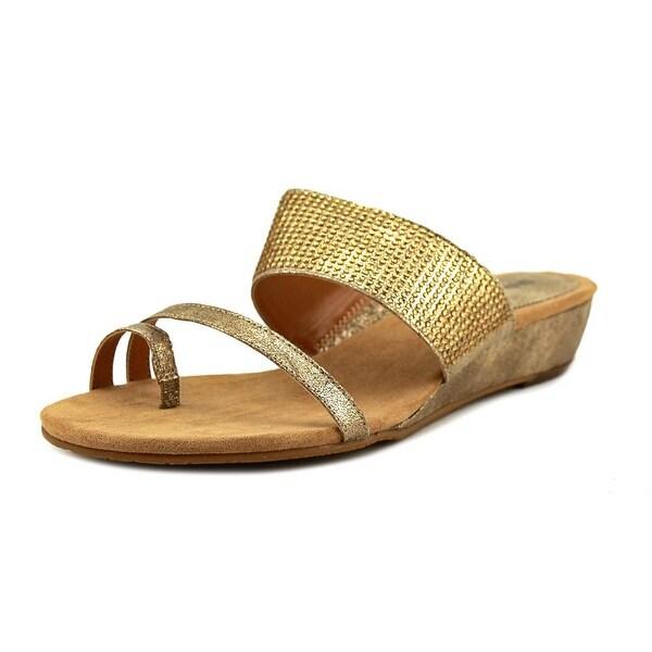 Style & Co Heidee Women Gold Sandals