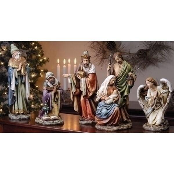 5-Piece Joseph's Studio Religious Holy Family Christmas Nativity Set - multi