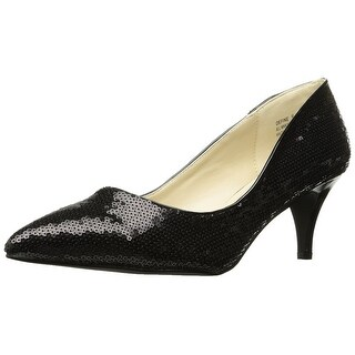 Annie Shoes Women's Late Night Pump Black Size 9.0