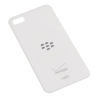 OEM Blackberry Battery Door with NFC Technology for Verizon Blackberry Z10 (Whit