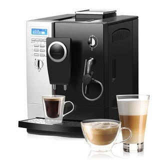 Link to Costway Super-Automatic Espresso Machine Cappuccino Latte Maker 19 Bar Similar Items in Kitchen Appliances