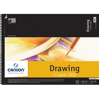 Canson C Grain Artist Series C100510889 18 X 24 Drawing Sheet Pad