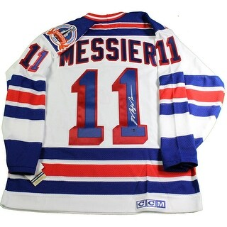 Mark Messier New York Rangers 1994 Replica White Home Jersey