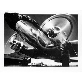 ''City of Portland Plane'' by Archive Photos Transportation Art Print (23.5 x 31.5 in.)
