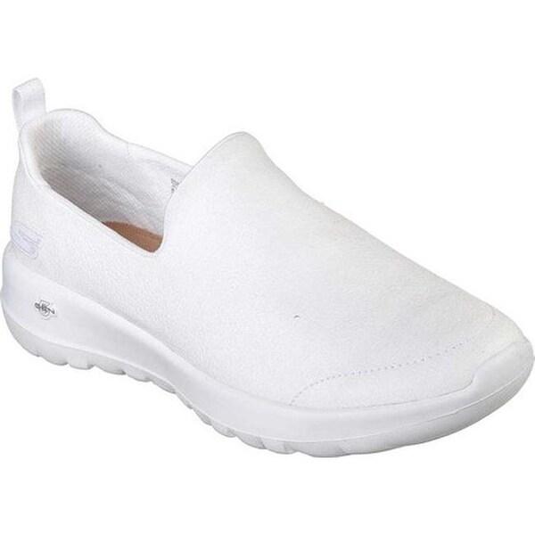 8a2abc019eef Shop Skechers Women s GOwalk Joy Gratify Slip-On Walking Shoe White ...