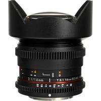 Rokinon 14mm T3.1 Cine ED AS IF UMC Lens for Sony A Mount - Black