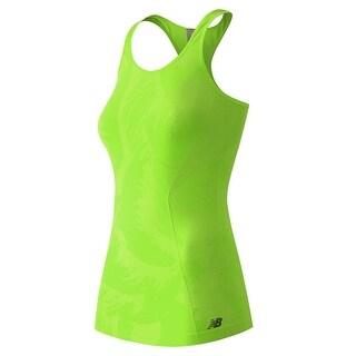 New Balance NEW Green Women's Size Medium M Tank Cami Racerback Top