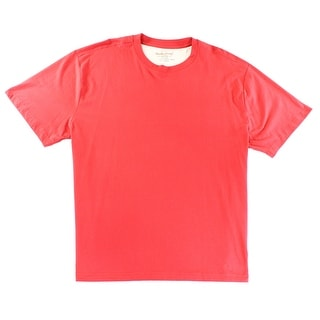 Weatherproof NEW Red Cherry Mens Size 4XLT Big & Tall Crewneck T-Shirt