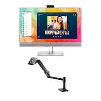 HP EliteDisplay E273m Monitor with Single Monitor Arm EliteDisplay E273m Monitor