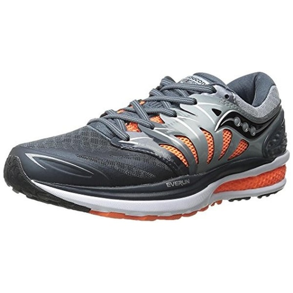 Saucony Mens Hurricane ISO 2 Running Shoes Mesh Lace-Up