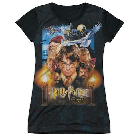 Harry Potter The Beginning Juniors Sublimation Shirt with Black Back