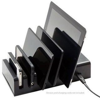 Visiontek 5 Device Charging Station, For Usb Chargeable Mobile Device - 900855