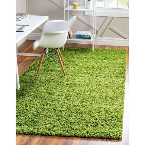 Unique Loom Solid Shag Area Rug