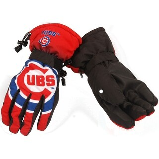 Chicago Cubs Gradient Big Logo Insulated Gloves