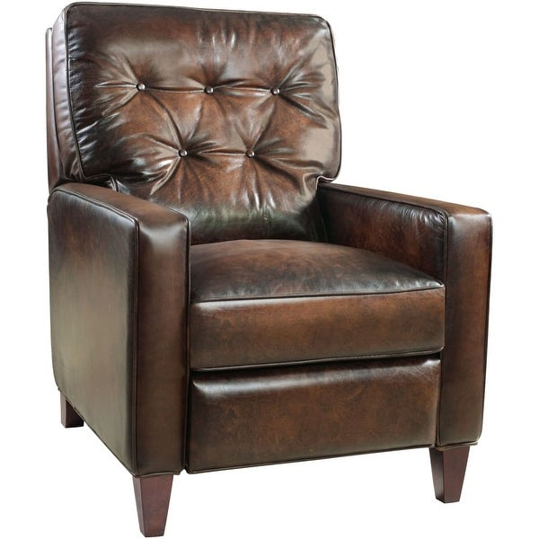 Hooker Furniture RC274 086 30 Inch Wide Leather Recliner From The Barnes  Collect   Ludlow