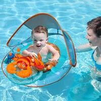 """36"""" Blue and Orange Lobster Swimming Pool Step 1 Baby Spring Float Activity Center"""