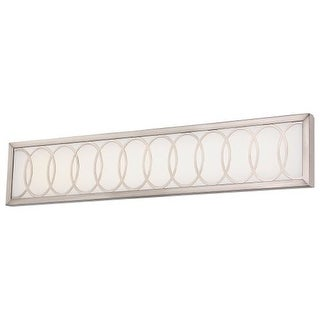 """Minka Lavery 2934-84-L 1 Light 30"""" Width LED ADA Bath Bar from the Celice Collection"""