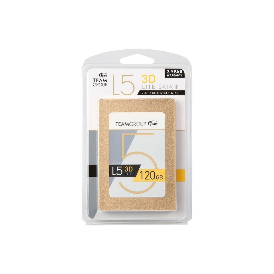 "Team Group L5 LITE 3D 2.5/"" 120GB SATA III 3D NAND Internal Solid State Drive"