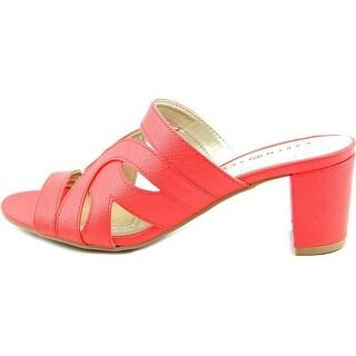 Karen Scott Womens Daere Open Toe Casual Slide Sandals