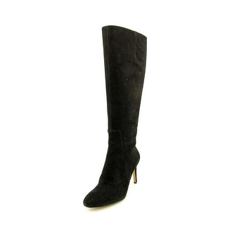 Nine West Passtime Pointed Toe Suede Knee High Boot