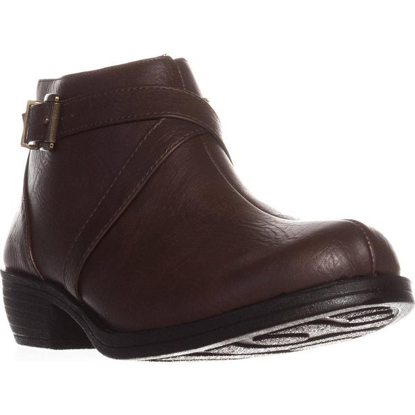 Easy Street Shannon Ankle Booties, Tan