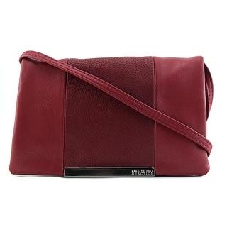 Kenneth Cole Reaction Foldover Minibag Crossbody Messenger - Red