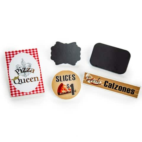 5 Pc Pizza Queen Pizza Shop Signs For 18 Inch Doll Sized Shop