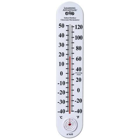 Indoor/Outdoor Classroom Thermometer