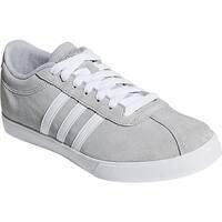 adidas Women's NEO Courtset Sneaker Clear Onix/FTWR White/Silver Metallic
