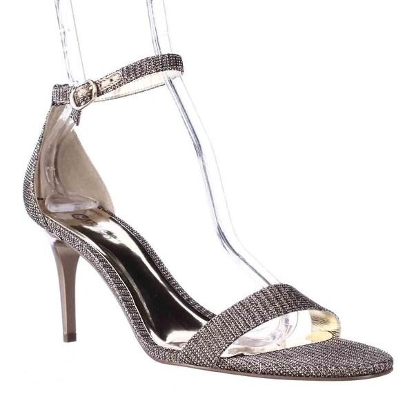 Carlos by Carlos Santana Sunset Ankle Strap Dress Sandals, Gold - 8.5 us / 38.5 eu