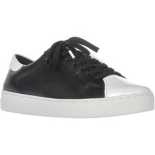 MICHAEL Michael Kors Frankie Fashion Sneakers, Black/Optic White - 8.5 us / 39 eu