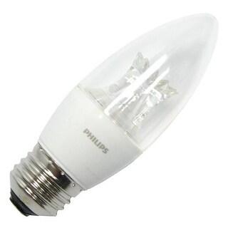 Phillips 457192 4.5W E26 B12 Soft White LED Dimmable Light Bulb