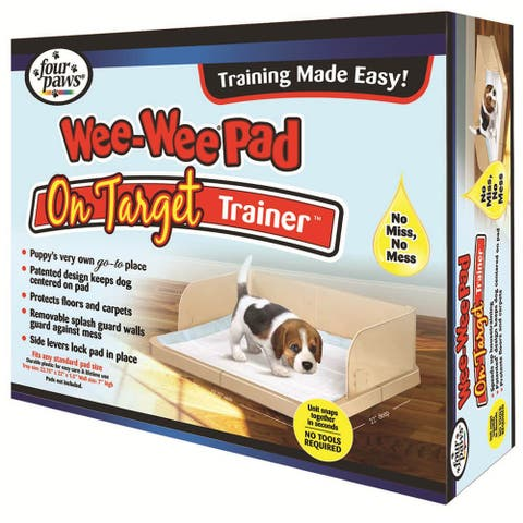 "Four Paws Wee-Wee Pad On Target Trainer - 22.75"" x 22"" x 7"""