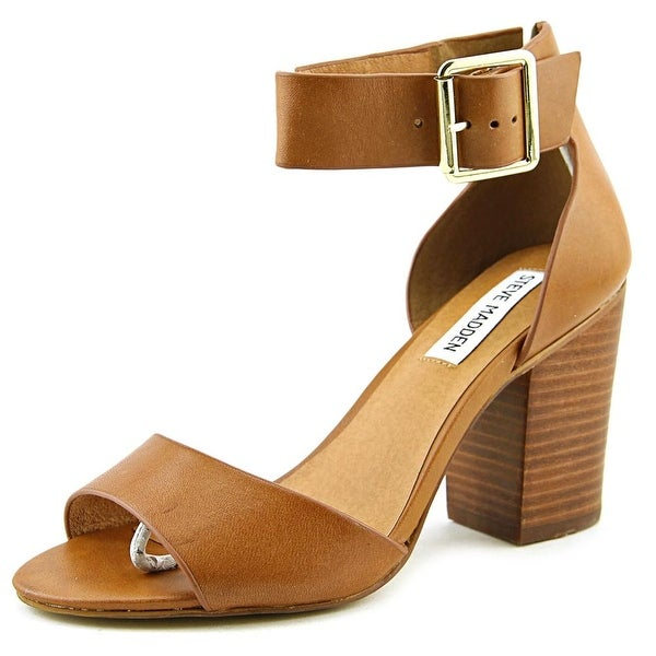 703a0fc4bde Shop Steve Madden Estoria Women Open Toe Leather Brown Sandals ...