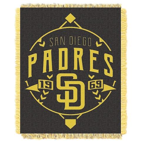 MLB 019 Padres Ace Jacquard Throw