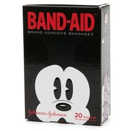BAND-AID Bandages Mickey Mouse Assorted Sizes 20 Each (4 options available)
