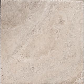 "Emser Tile T06TRAV0808UC  Trav Chiseled - 8"" x 8"" Square Floor and Wall Tile - Honed Travertine Visual"
