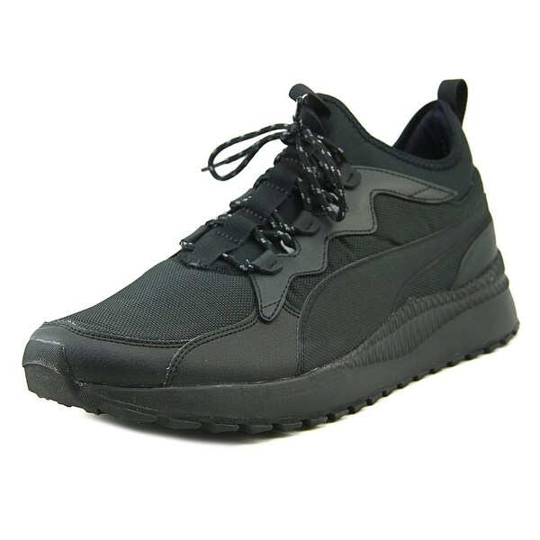 Puma Pacer Next Mid SB Men Round Toe Synthetic Black Sneakers