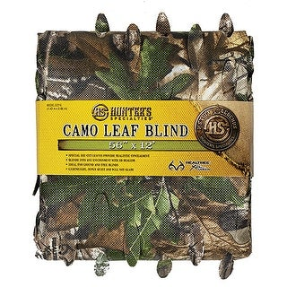 Hunters Specialties Leaf Blind Material Xtra Grn 56in x 12ft - 07215